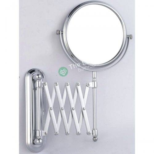 Wall Mirrors ~ Extending Wall Mounted Shaving Mirror Wall Mounted For Extending Wall Mirrors (#14 of 15)