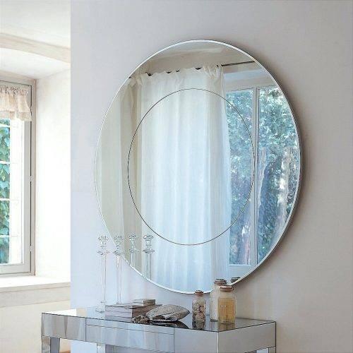 Wall Mirrors ~ Fancy Bathroom Wall Mirrors Bathroom Wall Vanity Intended For Fancy Bathroom Wall Mirrors (#12 of 15)
