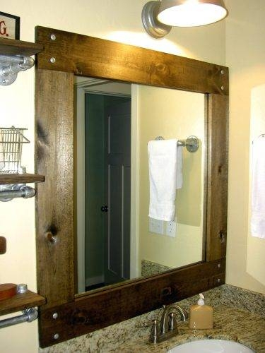 Wall Mirrors ~ Fancy Bathroom Wall Mirrors Bathroom Wall Vanity With Regard To Fancy Bathroom Wall Mirrors (#14 of 15)