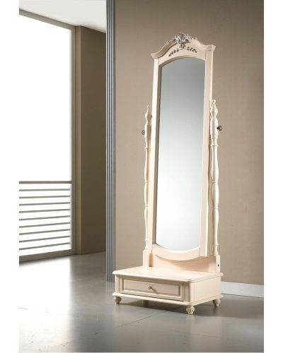 Wall Mirrors ~ Featured Image Of Oval Shaped Wall Mirrors Full Within Full Length Oval Wall Mirrors (#14 of 15)