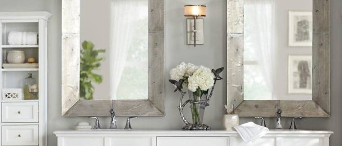 Wall Mirrors For Bathrooms | Home Improvement Ideas Inside Wall Mirrors For Bathrooms (#15 of 15)