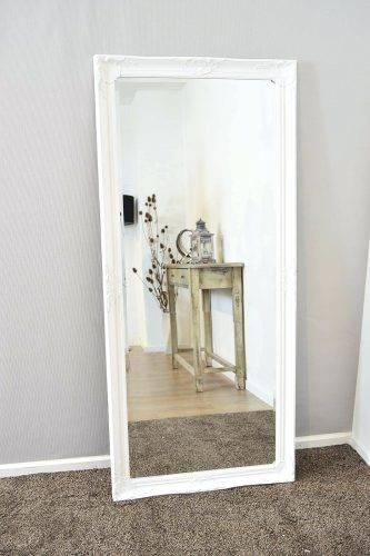 Wall Mirrors ~ Full Length Mirror For Sale White Baroque Framed Intended For Framed Full Length Wall Mirrors (#13 of 15)