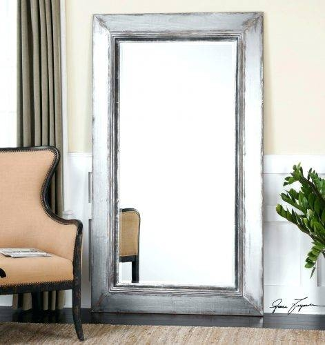 Wall Mirrors ~ Full Length Wall Mirror Full Length Wall Mirror Throughout White Long Wall Mirrors (View 13 of 15)