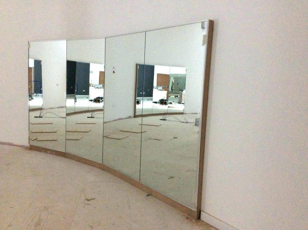 Wall Mirrors ~ Full Length Wall Mirror Gym Full Wall Mirrors Black Throughout Gym Full Wall Mirrors (#13 of 15)
