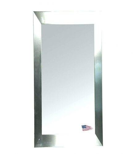 Wall Mirrors ~ Full Size Of Bathroom Cabinetsbathroom Vanity With White Long Wall Mirrors (#11 of 15)