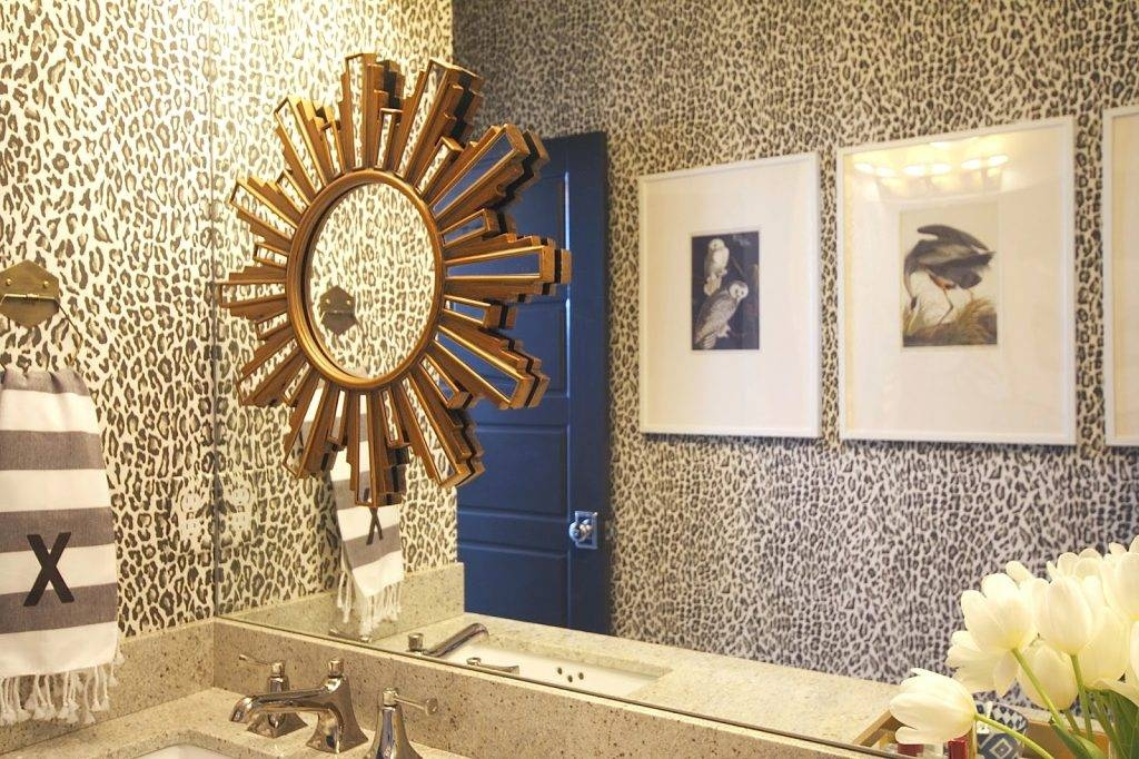 Wall Mirrors ~ Functionality Of A Home Goods Bathroom Mirrors With Leopard Wall Mirrors (#12 of 15)