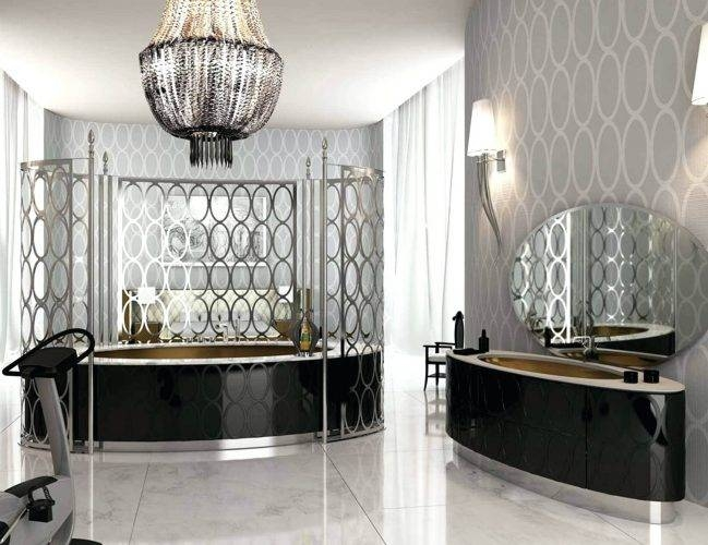 Wall Mirrors ~ High End Wall Mirrors Posh Beaded Chandelier And Pertaining To High End Wall Mirrors (View 2 of 15)