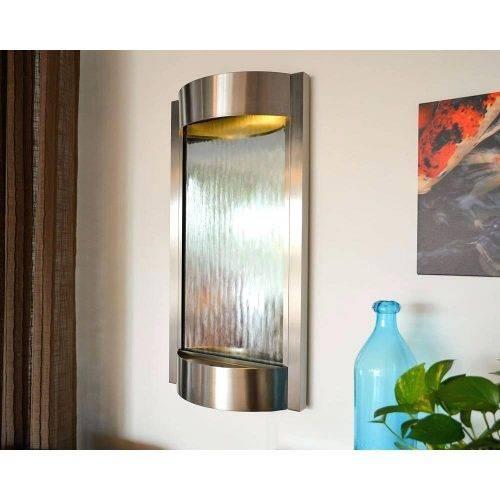 Wall Mirrors ~ Homcom 50la40wa13t Cm Stainless Steel Wall Mirror Regarding Stainless Steel Wall Mirrors (View 15 of 15)