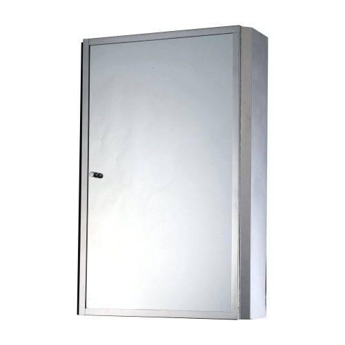 Wall Mirrors ~ Homcom 50la40wa13t Cm Stainless Steel Wall Mirror With Stainless Steel Wall Mirrors (View 14 of 15)