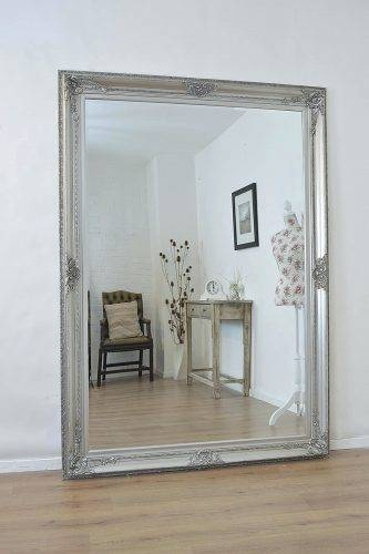 Wall Mirrors ~ Large Wall Mirrors Framed Large Wall Mirror Picture Throughout Large Wall Mirrors Without Frame (#12 of 15)