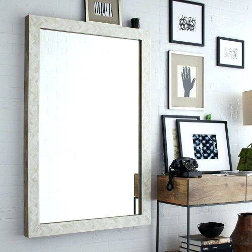 Wall Mirrors ~ Large Wall Mirrors Without Frame Household Inside Large Wall Mirrors Without Frame (#13 of 15)
