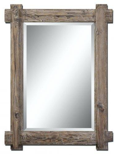 Wall Mirrors: Large Wood Wall Mirror (#15 of 15)