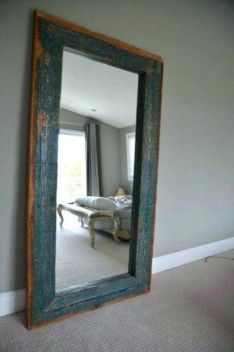 Wall Mirrors ~ Large Wooden Framed Wall Mirrors Extra Large Framed Regarding Large Wood Framed Wall Mirrors (#13 of 15)