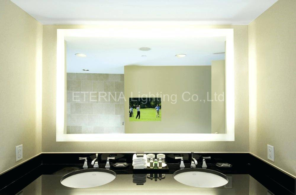 15 Best Ideas Of Backlit Wall Mirrors