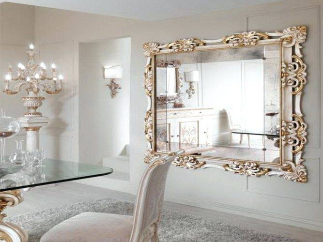 Wall Mirrors ~ Living Extra Large Bevelled Edge Wall Mirror Large Within Extra Large Bevelled Edge Wall Mirrors (#14 of 15)