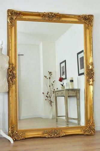 Wall Mirrors ~ Mosaic Medley Blue Framed Wall Mirror Blue Framed In Blue Framed Wall Mirrors (#15 of 15)