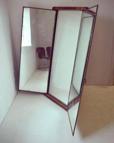 Wall Mirrors ~ New Three Mirror Medicine Cabinet 14 In Building A Pertaining To Three Way Wall Mirrors (#11 of 15)