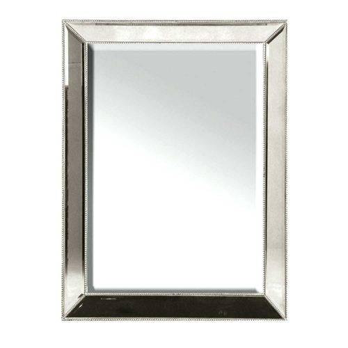 Wall Mirrors ~ Nifty Interior Black Square Oval Rustic Wooden Intended For Cherry Wood Framed Wall Mirrors (#12 of 15)