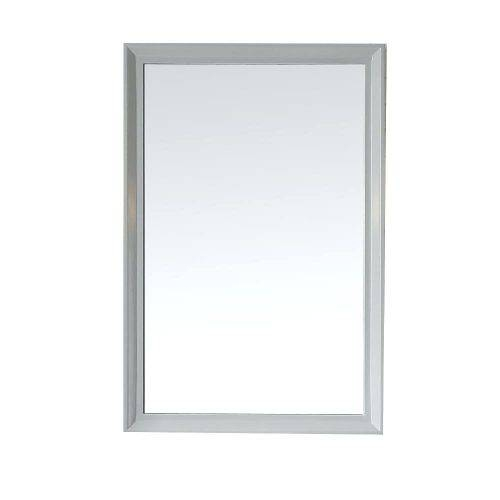 Wall Mirrors ~ Parrish 24 In X 36 In Framed Wall Mirror In Dove 24 In Wall Mirrors 24 X (View 10 of 15)