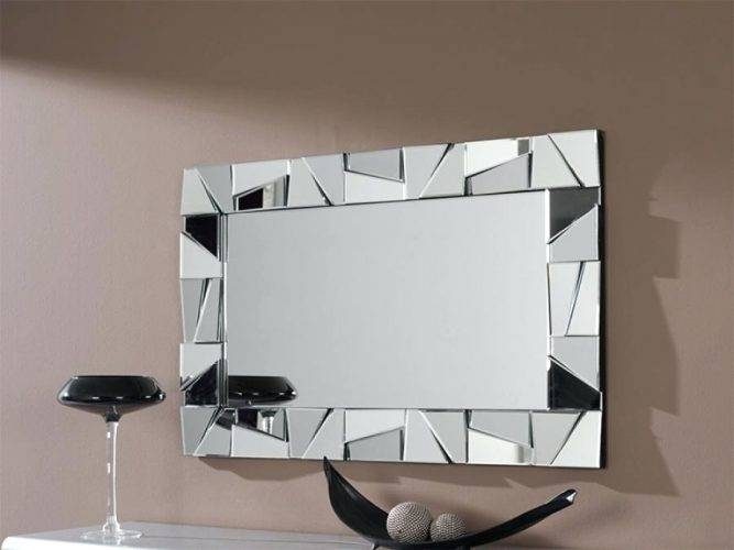 Wall Mirrors ~ Rectangle Wall Mirrors Perth Large Decorative In Rectangular Wall Mirrors (#14 of 15)