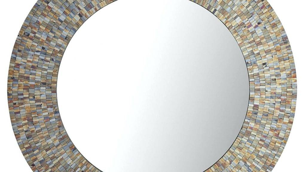 Small Black Decorative Mirrors: 15 Photo Of Small Round Wall Mirrors
