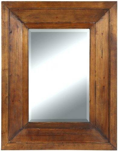 Wall Mirrors ~ Rustic Timber Framed Mirror Aspire Rustic Wood Wall In Timber Mirrors (View 13 of 15)