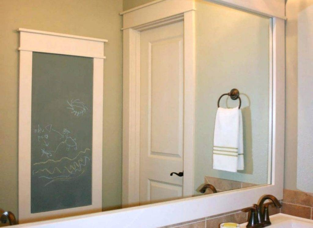 15 inspirations of sparkle wall mirrors for Silver sparkle bathroom mirror