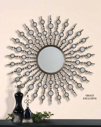 Wall Mirrors ~ Sun Ray Wall Mirror Explore Decorative Wall Mirrors With Regard To Sun Ray Wall Mirrors (View 6 of 15)