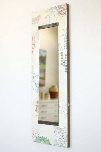 Wall Mirrors ~ Tall Thin Wall Mirrors Gorgeous Long Wall Mirrors Throughout Tall Narrow Wall Mirrors (View 9 of 15)