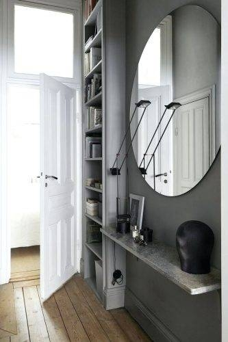 Wall Mirrors: Three Way Wall Mirror. 3 Way Folding Wall Mirror (#15 of 15)