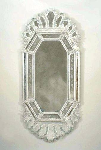 Wall Mirrors ~ W Large Glass Block Rectangle Wall Etched Wall In Etched Wall Mirrors (#12 of 15)