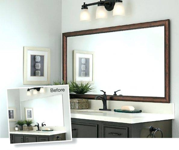 Wall Mirrors ~ Wall Mirror Without Frame Full Length Wall Mirror Regarding Large Wall Mirrors Without Frame (#14 of 15)
