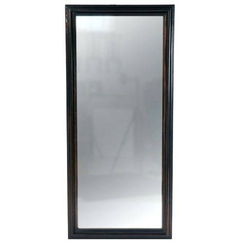 Wall Mirrors ~ White Framed Full Length Wall Mirror Image Of Full Pertaining To White Full Length Wall Mirrors (#13 of 15)