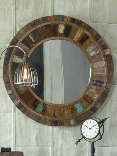 Wall Mirrors ~ Wood Wall Mirrors Uk Dark Wood Framed Wall Mirrors Within Dark Wood Wall Mirrors (#14 of 15)