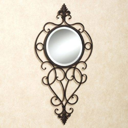 Wall Mirrors ~ Wrought Iron Wall Mirror Sale Wrought Iron Mickey Pertaining To Mickey Mouse Wall Mirrors (View 7 of 15)