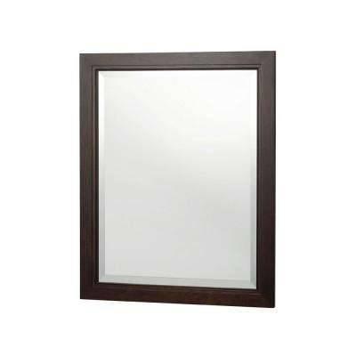Walnut – Bathroom Mirrors – Bath – The Home Depot With Walnut Wall Mirrors (View 7 of 15)