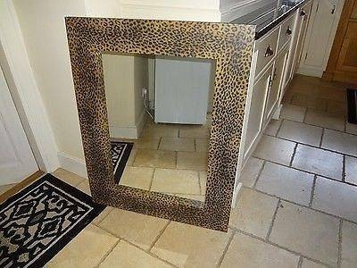 Wanted Leopard Print Wall Mirror | Wanted Within Leopard Wall Mirrors (#15 of 15)