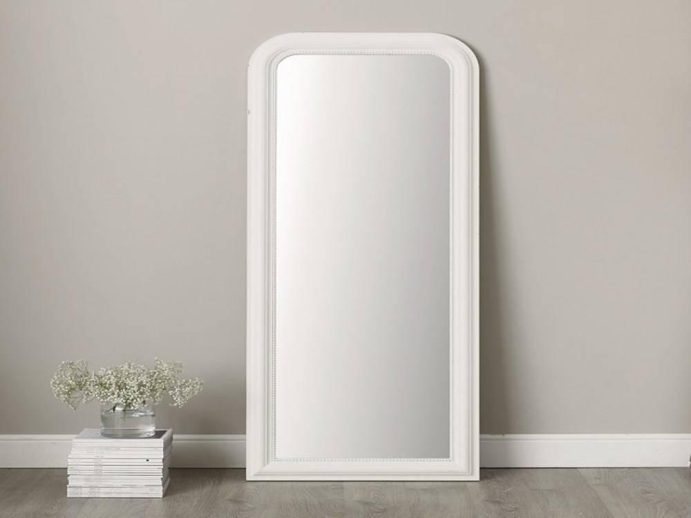 White Framed Full Length Wall Mirror | Home Design Ideas With Framed Full Length Wall Mirrors (#15 of 15)