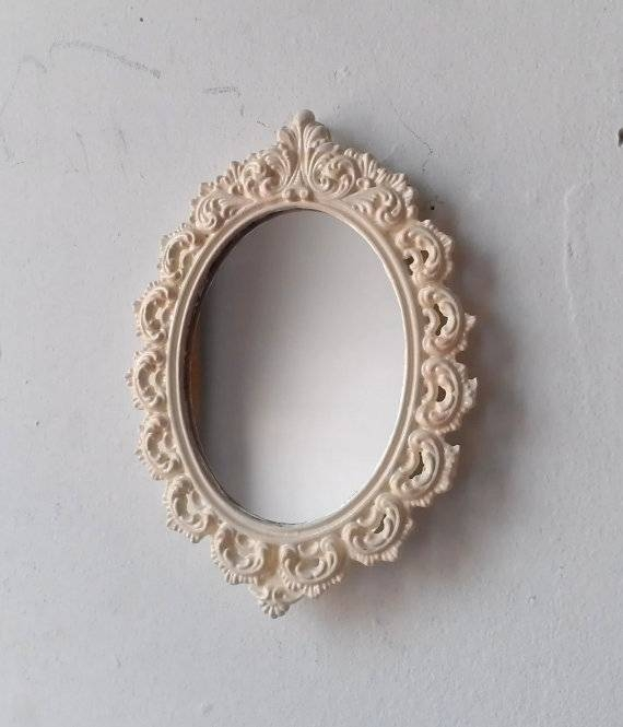 Wonderfull Design Small Wall Mirror Classy Ideas Small – Wall Shelves Intended For Small Vintage Wall Mirrors (View 5 of 15)