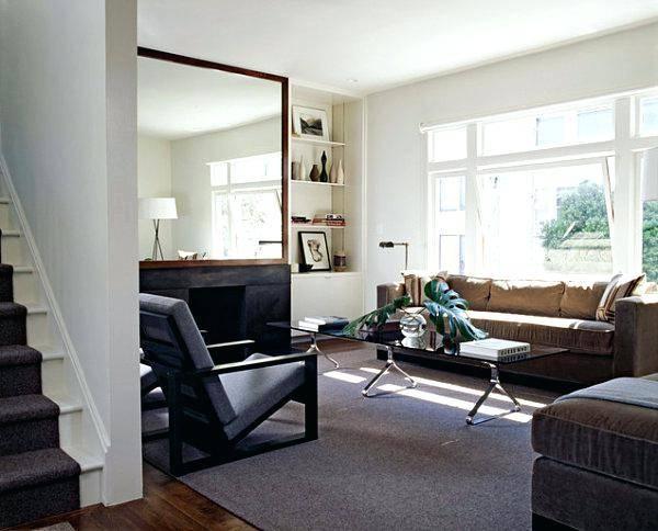 Wood Framed Oval Wall Mirror Black Wood Framed Wall Mirrors Regarding Large Wood Framed Wall Mirrors (#15 of 15)