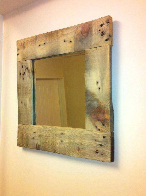 Popular Photo of Beech Wood Framed Mirrors