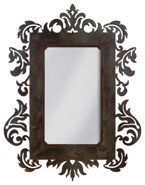 Popular Photo of Wrought Iron Wall Mirrors