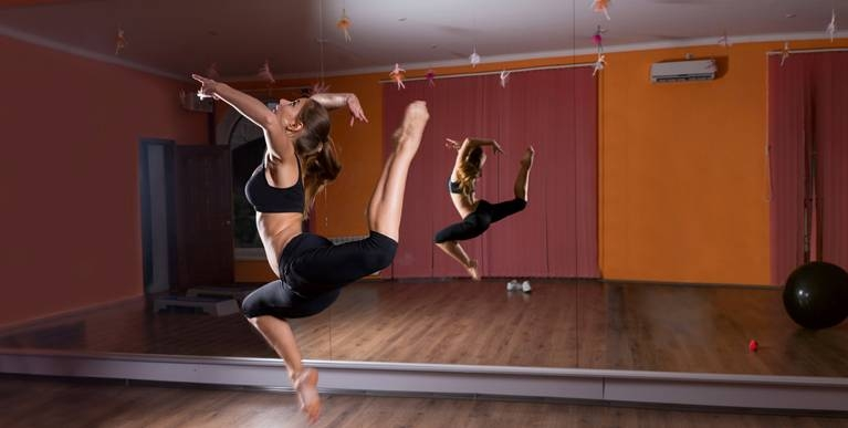 Yoga Mirrors | Dance Studio Mirrors | Mirrored Walls Intended For Dance Studio Wall Mirrors (#15 of 15)