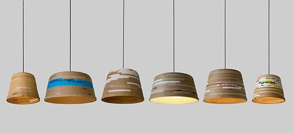 Inspiration about 12 Stunning Examples Of Eco Chic Lighting Made From Paper – Upcyclist Inside Most Current Recycled Pendant Lights (#14 of 15)