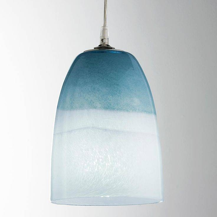 Inspiration about 123 Best Plenty Of Pendants Images On Pinterest | Cord, Cords And Regarding Best And Newest Sea Glass Pendant Lights (#13 of 15)