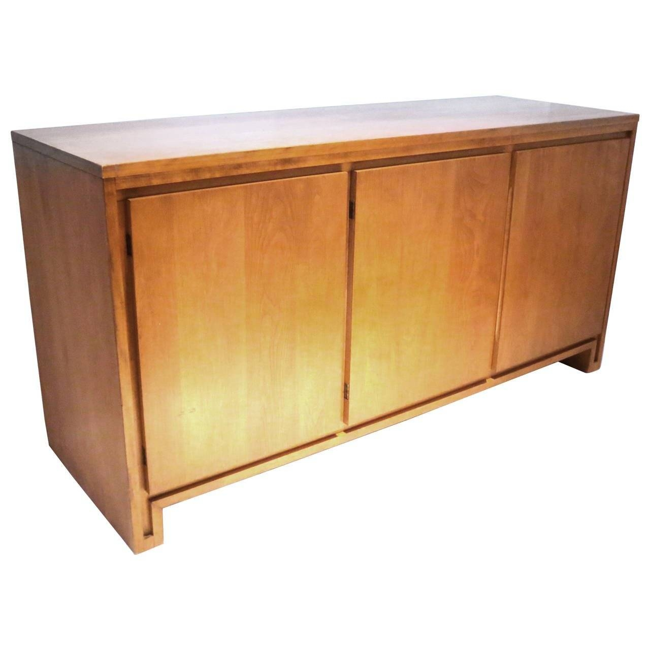 Inspiration about 1950S Solid Maple Sideboard Or Credenza Designrussel Wright Inside Most Recent Maple Sideboards (#13 of 15)