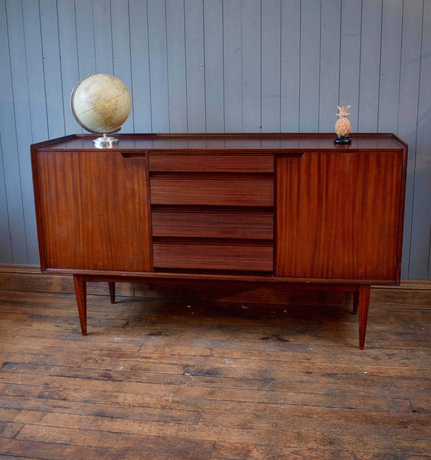 Inspiration about 1960S Afromosia Vintage Richard Hornby Teak Retro Sideboard Heals Inside Latest Danish Retro Sideboards (#9 of 15)