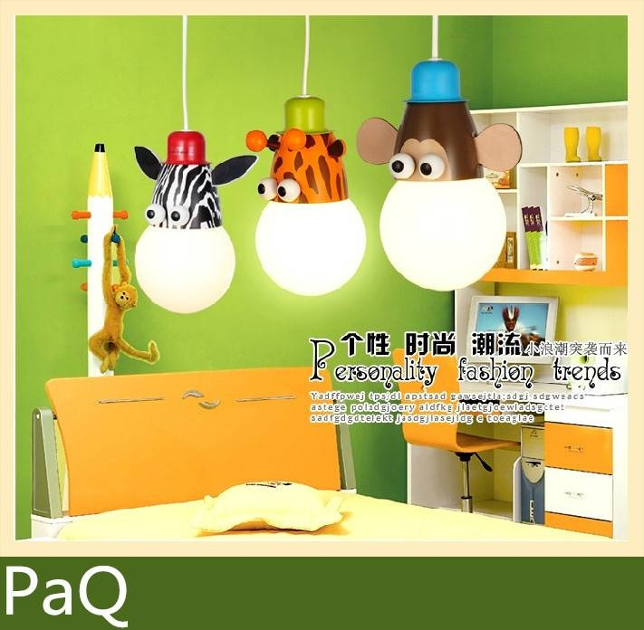 Inspiration about 1Pcs Cartoon Kids Lighting Chandelier Lamp For Kids Room One Regarding Most Recently Released Kids Room Pendant Lights (#8 of 15)