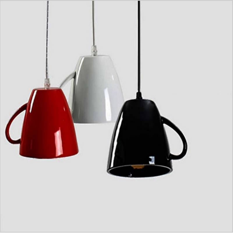 2017 Hot New Three Colours Pendant Light Industrial Art Decorative With Latest Pendant Light Shades (#2 of 15)