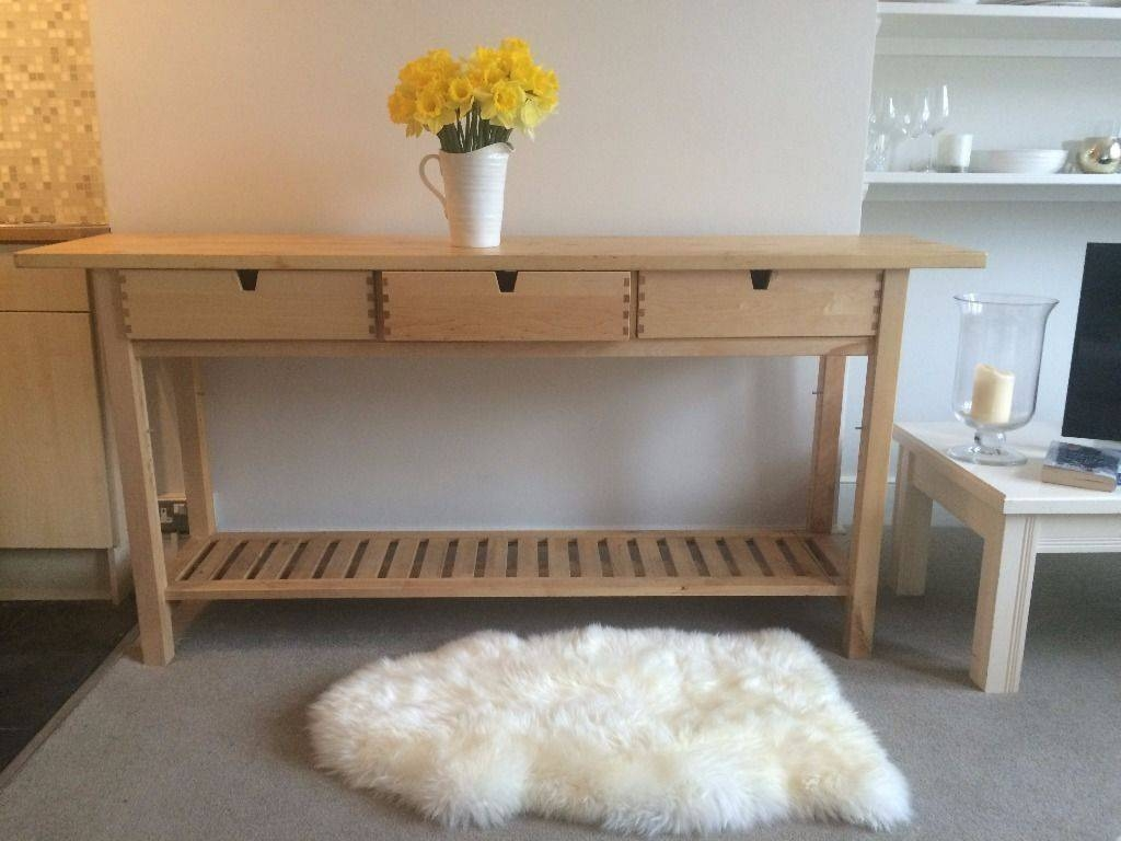 25 Ways To Use And Hack Ikea Norden Buffet – Digsdigs With 2017 Ikea Norden Sideboards (View 2 of 15)